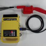 Detector de poros corriente pulsante